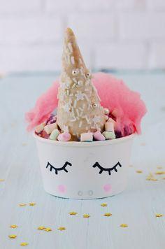 Super leckeres, buntes Einhorn Eis * Ganz einfach aus zwei Zutaten selber machen * süße Kondensmilch + Sahne * Viele tolle Einhorn Ideen * bei Minidrops