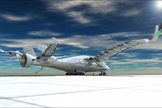 Plutôt que de compter sur les combustibles fossiles traditionnels, l'avion fonctionnerait grâce à trois énergies propres : l'éolien, l'hydrogène, et l'énergie solaire.