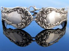 Spoon Bracelet (Medium) Wallace Floral Multi Motif