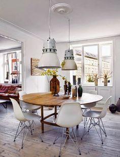 dlaczego warto wybrać okrągły stół? // why you should choose a round table for dinning room? - Apetyczne Wnętrze blog | wnętrza | design
