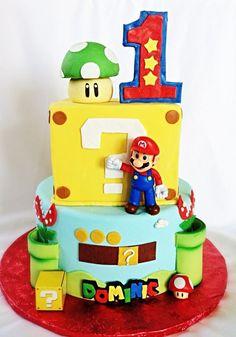 bolo super mario fake #bolomario #bolosupermario #festamario #mariobros Mario Birthday Cake, Super Mario Birthday, Super Mario Party, Boy Birthday Parties, 5th Birthday, Birthday Ideas, Bolo Do Mario, Bolo Super Mario, Mario Bros.