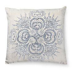 Bauernleinen-Kissen, Blumenstrauß Alpine Style, Wood Blocks, Tapestry, Throw Pillows, Prints, Stamps, Ornaments, Home Decor, Food