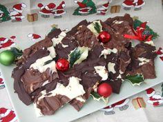 Placas de tres chocolates. Ver receta: http://www.mis-recetas.org/recetas/show/47052-placas-de-tres-chocolates
