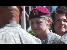 A Gold Star Story - Captain Jenna Grassbaugh 82nd Airborne Division, Mint Salad, Gold Stars, Baseball Hats, Army, Husband, Military, Youtube, Gi Joe