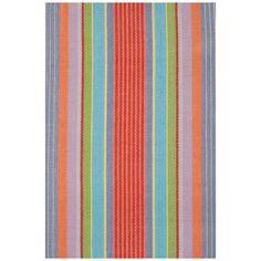 Dash & Albert Garden Stripe Cotton Rug