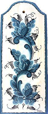 NORWEGIAN ROSEMALING 11 3 4 INCH WOOD WALL PLAQUE SIGNED FOLK ART   eBay