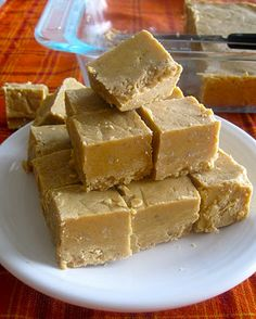 Pumpkin Pie AND Fudge. Together. At last.