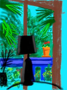 Official Works by David Hockney including exhibitions, resources and contact information. David Hockney Ipad, David Hockney Art, David Hockney Paintings, Contemporary Art Artists, Modern Art, Pop Art Movement, Ipad Art, Rainbow Colors, Drawings