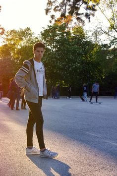 #style #outfit #model #spring #madrid #trees #sun #sunset #session