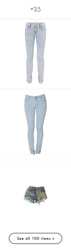 """""""#35"""" by jessie-swg ❤ liked on Polyvore featuring jeans, pants, bottoms, pantalones, calças, women, zipper skinny jeans, acid wash jeans, zipper fly jeans and french connection"""