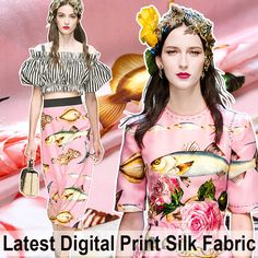 Material:94% silk & 6% spandex,it feels stretch and smooth. Thickness:19mm Width:110cm (100cm = 1.094yard) Used for:dress,shirt,clothes. One piece is 100cm,two pieces is 200cm ....... ……………………………………………………………………………………………………… About the thickness of silk: mm represents the thickness of silk,silk chiffon is 6mm or 8mm,silk crepe de chine is 12mm or 14mm,they are too thin that we should add lining to them,silk satin is 19mm,its thick enough to make dress alone. Go to buy lining fabric: ht...