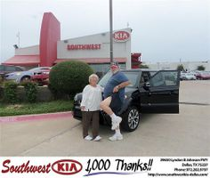 Happy Anniversary to Robert Krantz on your 2013 #Kia #Soul from April Waggoner and everyone at Southwest Kia Dallas! #Anniversary