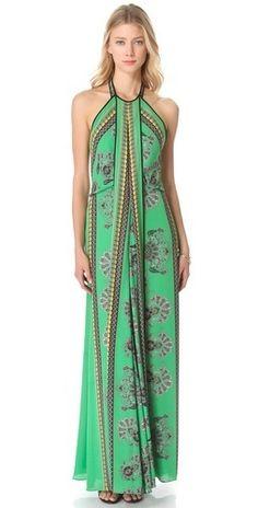 BCBGMAXAZRIA Arlenis Halter Gown     $438.00