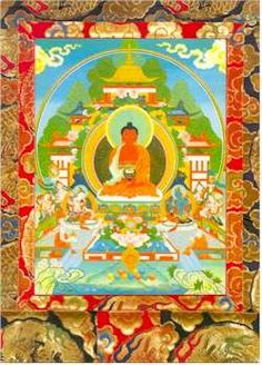 Altar Image: Amitabha Buddha of Infinite Light