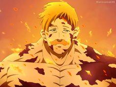 Escanor art by - Fanarts Anime, Anime Chibi, Anime Characters, Sarada Uchiha, Naruto Shippuden Anime, Otaku Anime, Anime Art, Escanor Seven Deadly Sins, Cyberpunk Anime