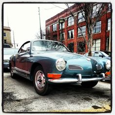 Blue Karman Ghia
