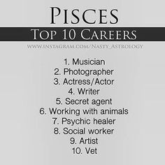 I actually plan on going into to 2 of those careers so it was kinda werid to see them both on here