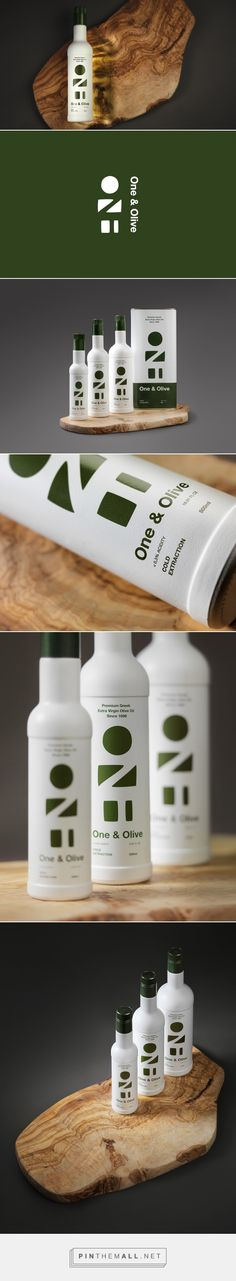 One & Olive packaging design by høly - http://www.packagingoftheworld.com/2018/01/one-olive.html - created via https://pinthemall.net