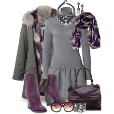"""Scarf Styling"" by designsbytraci on Polyvore"