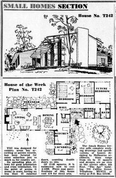 5 - house of the week Modern Floor Plans, Home Design Floor Plans, Contemporary House Plans, Modern House Plans, Small House Plans, The Sims, Sims 4, Cottage Floor Plans, Cabin Floor Plans
