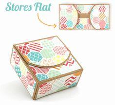 Silhouette Design Store - View Design #46673: 3d lori whitlock 'store flat' box
