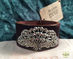 MADE IN THE DEEP SOUTH - Brown Leather Cuff Bracelet