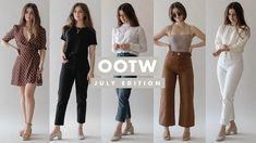 8e1c6f29353f OOTW  Summer Outfits Ideas - July 2018 - Week of Outfits