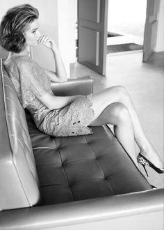 Rosie Huntington-Whiteley by Tom Munro for Harper's Bazaar UK