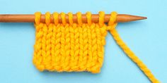 Three Ways to Cast On Stitches at the Beginning of a Row | 10 rows a day