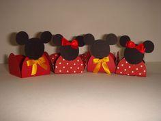 Mickey e Minie - Formas de doces