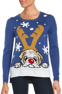 By Design Dog Ugly Christmas Sweater