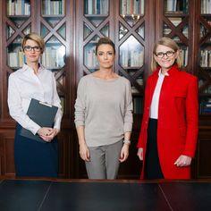 Małgorzata Rozenek z mentorkami