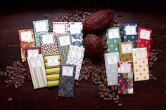 The Dieline's Top 25 Chocolate Bar Packages: Mast Brothers Chocolate Bars