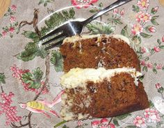 FINE WORDS DON'T FEED CATS: Courgette Cake