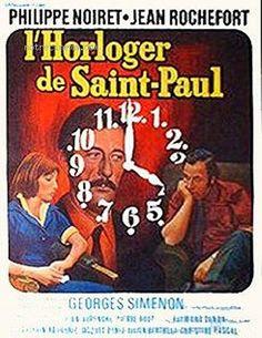 """L'horloger de Saint-Paul / El relojero de Saint Paul"" (1974) Bertrand Tavernier, France"