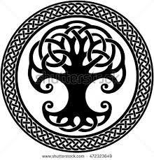 """Résultat de recherche d'images pour """"arbre de vie celte signification"""""""