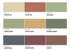 Exterior paint color chart benjamin moore home painting - Benjamin moore exterior paint color chart ...
