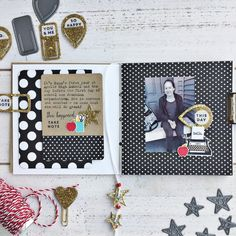 Mini Book Layout by Heather Nichols for Papertrey Ink (September 2017)