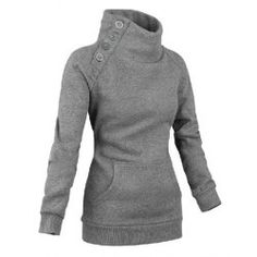 Material: Cotton Clothing Length: Regular Sleeve Length: Full Style: Fashion Pattern Style: Solid Weight: Package Contents: 1 x Sweatshirt Mode Chic, Mode Style, Style Me, Hoodie Sweatshirts, Sport Outfit, Sport Wear, Ideias Fashion, Autumn Fashion, Cute Outfits