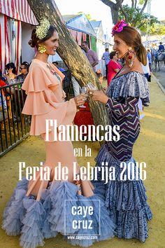 flamencas-en-la-feria-de-lebrija-2016-100 Fashion Vocabulary, Spanish Heritage, Beautiful Blouses, Dance Costumes, Fishtail, Aurora Sleeping Beauty, Dresses For Work, Gowns, Boho