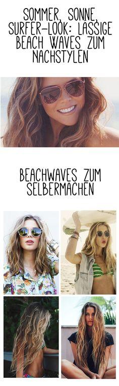 Sommer, Sonne, Surfer-Look: Lässige Beach Waves zum Nachstylen!  #gofeminin #beauty #beachwaves #summer