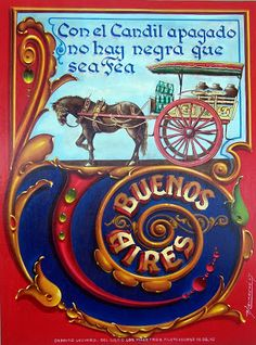 """FILETE PORTEÑO DE MENASCHE"" Argentine, Arte Popular, Calligraphy Letters, Cool Posters, Folklore, Graphic Art, Baby Dolls, Tapestry, Lettering"