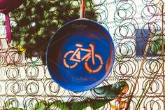 bike sign by André Lui Bernardo on @creativemarket