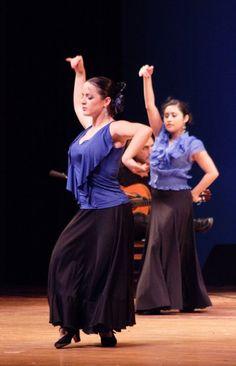 Soleares - Flamenco Olé performance at the Lanterman Auditorium, La Cañada/Flintridge, CA.  Summer 2009.