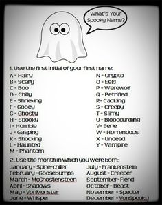 pinterest games for halloween for teens share projects to try pinterest - Halloween Name Ideas