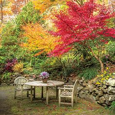 The Gardeners - Paint the Fall with Color - Southern Living
