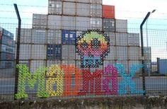 #streetart #crossstitch