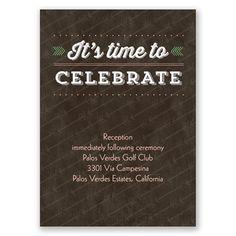 Happy Together - Reception Card Wedding Reception Cards, Wedding Invitations, Palos Verdes Estates, Happy Together, Time To Celebrate, Davids Bridal, Personal Photo, Bridal Shower, Shower Party