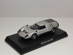 KYOSHO MAZDA ROTARY ENGINE MINICAR COLLECTION RX-500 SILVER 1/64 JAPAN #Kyosho #Mazda