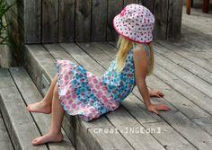lillesol & pelle Schnittmuster/ pattern: Stufenkleid